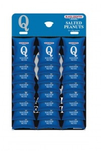 Card of Salted Peanuts 24 x 50g